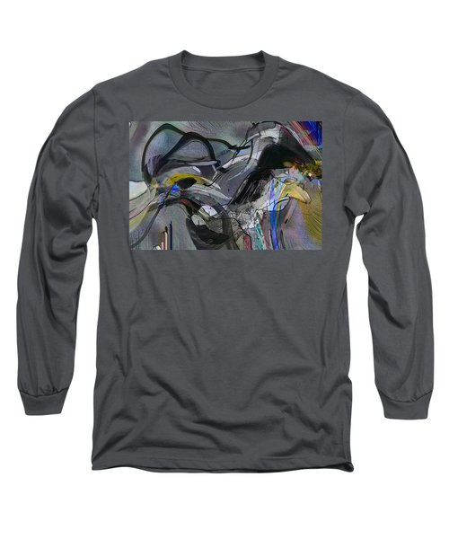 Long Sleeve T-Shirt featuring the digital art Bird That Wept With Me by Richard Thomas