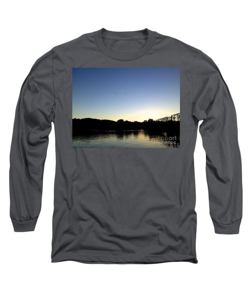 Birds And Blues Long Sleeve T-Shirt