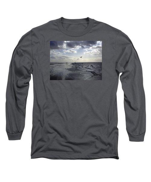 Birds At The Beach 2 Long Sleeve T-Shirt