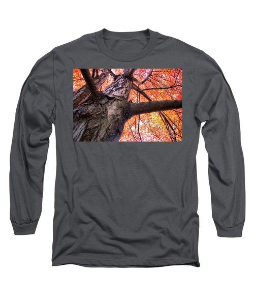 Long Sleeve T-Shirt featuring the photograph Bird's Pov ...lol by John S