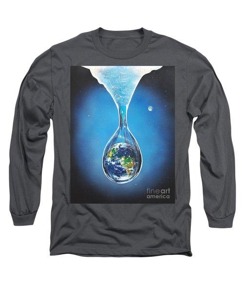 Birth Of Earth Long Sleeve T-Shirt