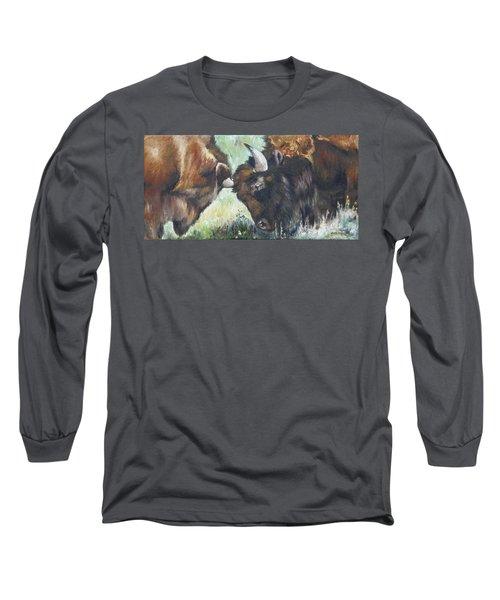 Bison Brawl Long Sleeve T-Shirt