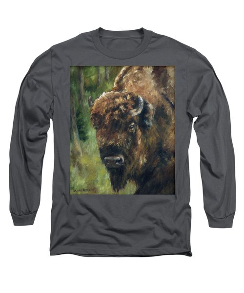 Bison Study - Zero Three Long Sleeve T-Shirt