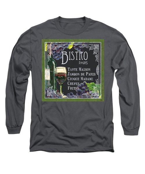 Bistro Paris Long Sleeve T-Shirt