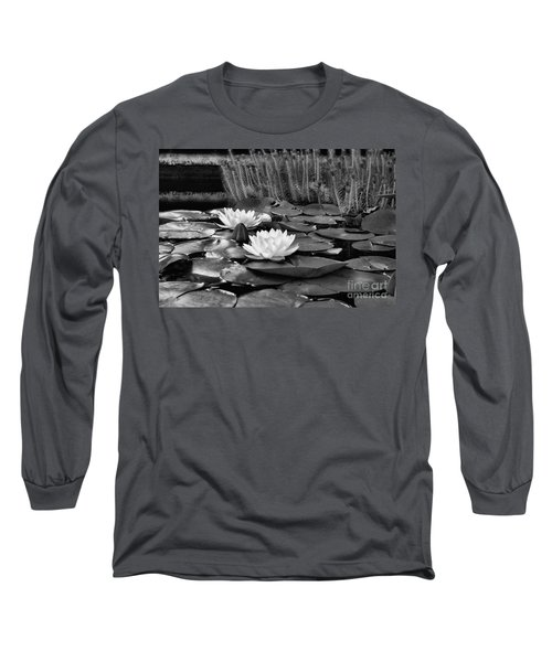 Black And White Version Long Sleeve T-Shirt by John S