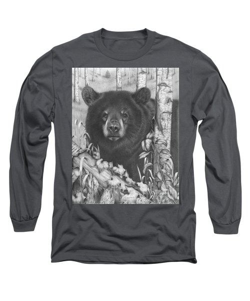Black Bear On Newsome Creek Long Sleeve T-Shirt