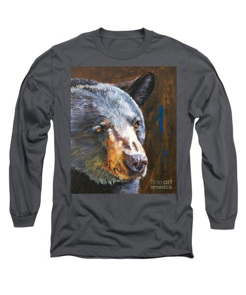 Black Bear The Messenger Long Sleeve T-Shirt