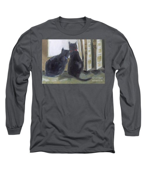 Black Cats  Long Sleeve T-Shirt