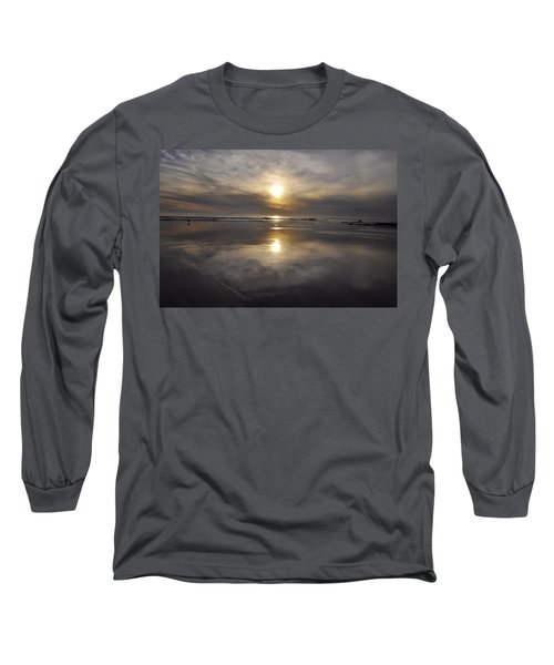 Black Sunset Long Sleeve T-Shirt