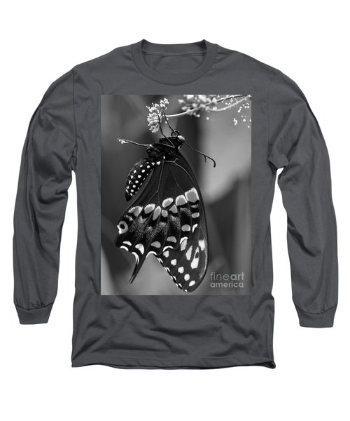 Black Swollowtail  Long Sleeve T-Shirt