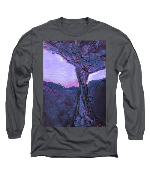 Black Tree Long Sleeve T-Shirt