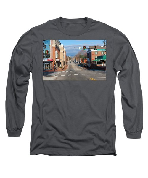 Blacksburg Virginia Long Sleeve T-Shirt by Melinda Fawver