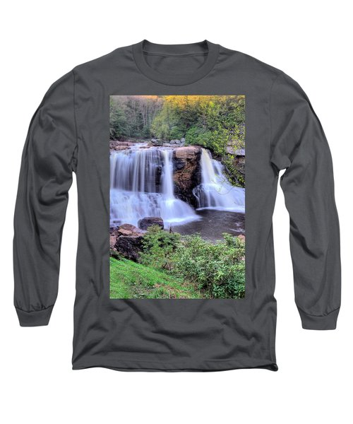 Long Sleeve T-Shirt featuring the photograph Blackwater Falls by Gordon Elwell
