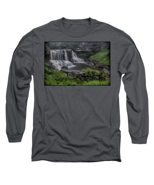 Blackwater Watercolor Long Sleeve T-Shirt