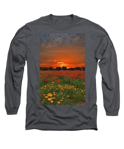 Blaze Of Glory Long Sleeve T-Shirt