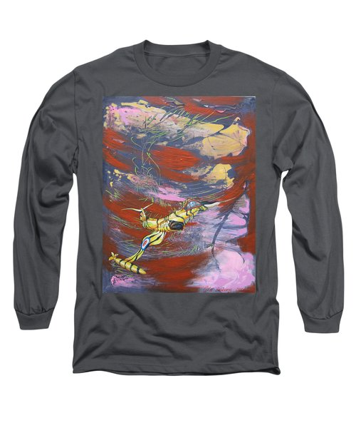 Blazing Starfighter Long Sleeve T-Shirt