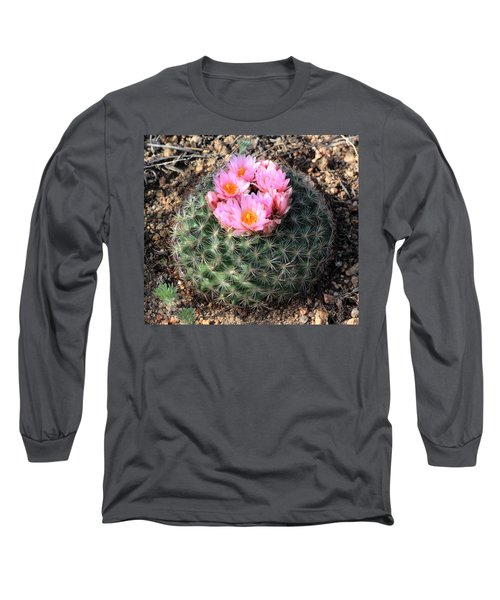 Blooming Cactus Long Sleeve T-Shirt