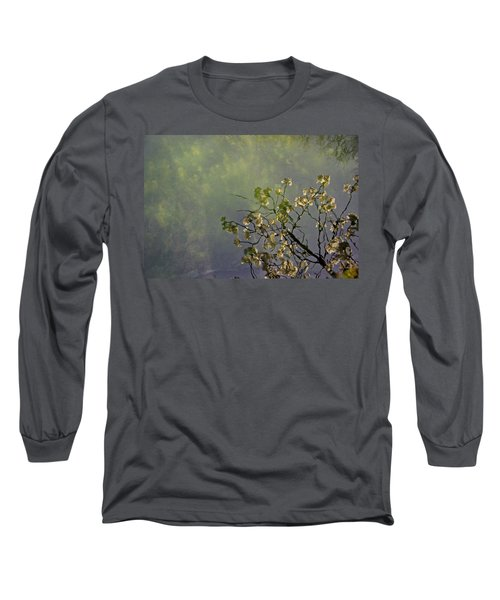 Long Sleeve T-Shirt featuring the photograph Blossom Reflection by Marilyn Wilson