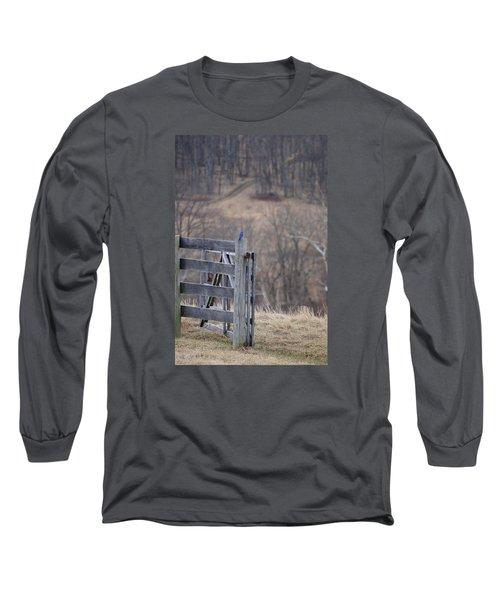 Blue Bird Long Sleeve T-Shirt