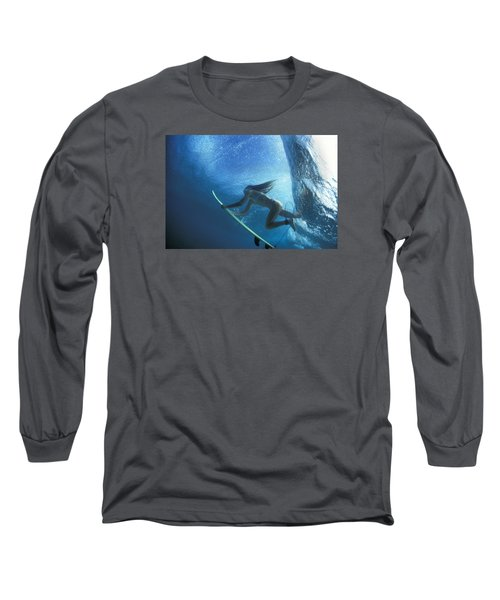 Blue Embrace Long Sleeve T-Shirt