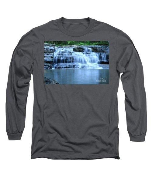 Blue Falls Long Sleeve T-Shirt