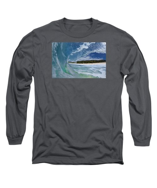 Blue Foam Long Sleeve T-Shirt