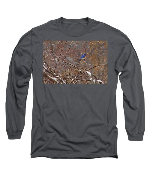 Long Sleeve T-Shirt featuring the photograph Blue Norther by Gary Holmes