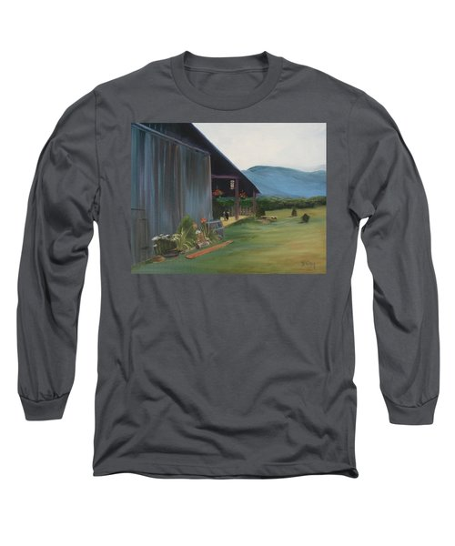 Blue Ridge Vineyard Long Sleeve T-Shirt