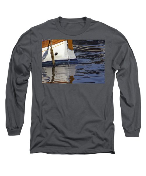 Blue Rudder Long Sleeve T-Shirt