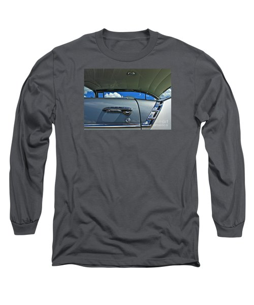 Long Sleeve T-Shirt featuring the photograph 1956 Chevy Bel Air by Linda Bianic