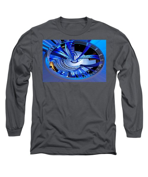 Blue Steel Long Sleeve T-Shirt