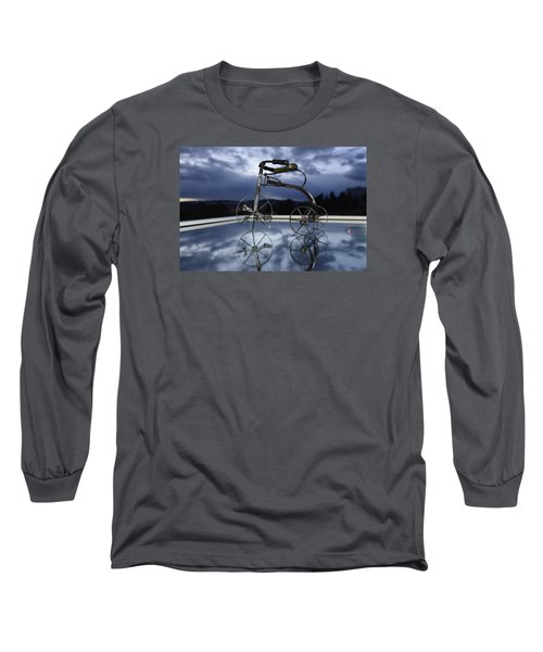 Blue Visions 5 Long Sleeve T-Shirt