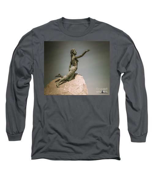 Blue Water Maiden Long Sleeve T-Shirt