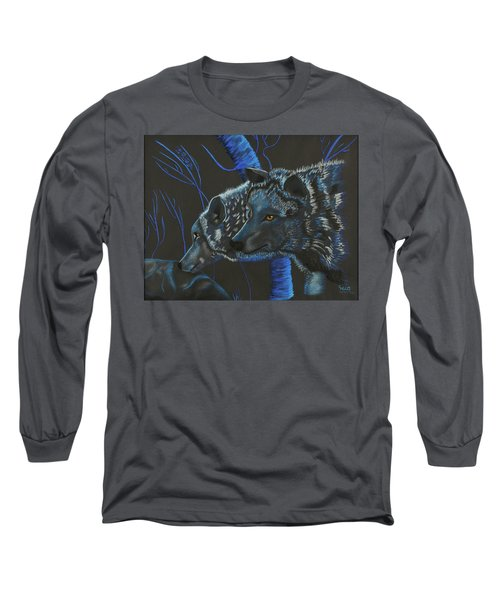 Blue Wolves Long Sleeve T-Shirt