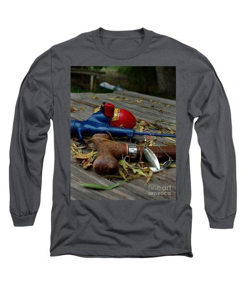 Blured Memories 01 Long Sleeve T-Shirt by Peter Piatt