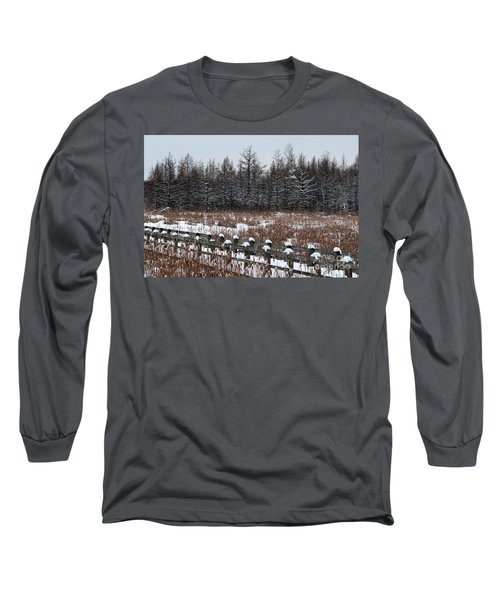 Long Sleeve T-Shirt featuring the photograph Boardwalk Series No1 by Bianca Nadeau