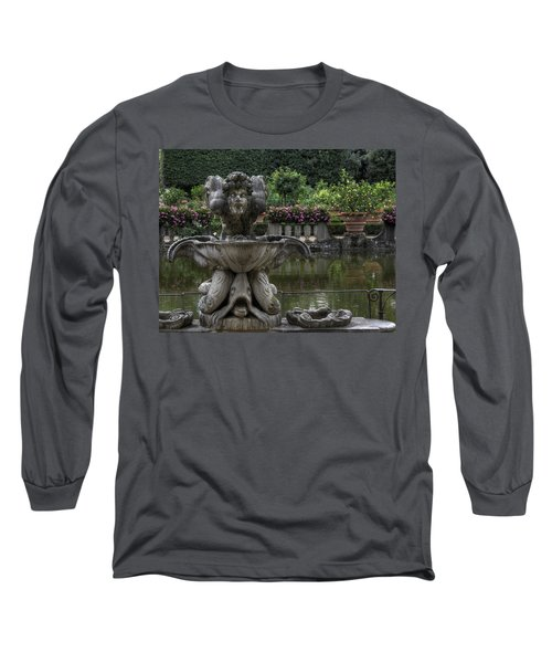 Boboli Fountain Long Sleeve T-Shirt