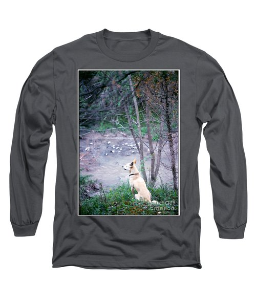 Boggy Watches Long Sleeve T-Shirt by Patricia Keller