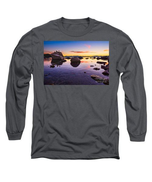 Bonsai Sunset Long Sleeve T-Shirt