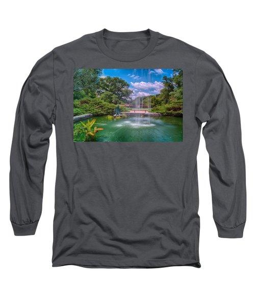 Botanical Garden Long Sleeve T-Shirt by Jonah  Anderson
