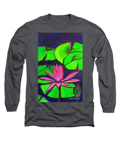 Botanical Lotus 1 Long Sleeve T-Shirt