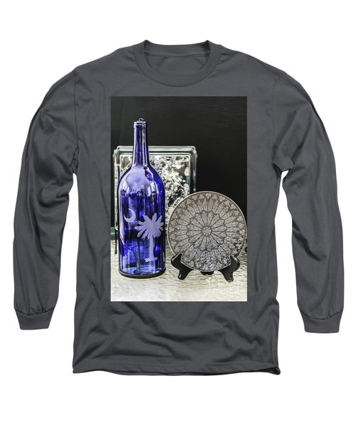 Bottle And Plate Long Sleeve T-Shirt