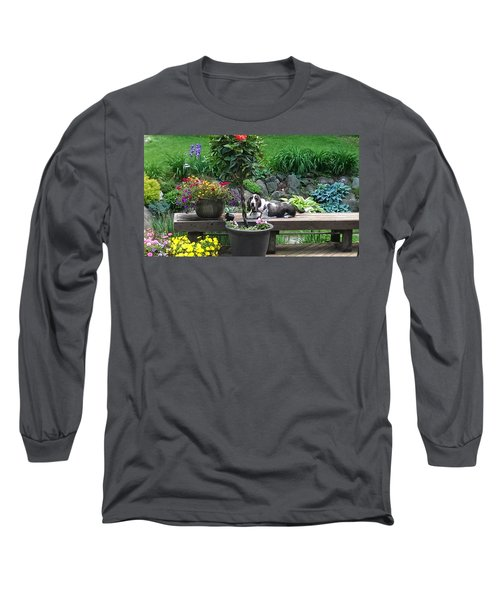 Bowie In The Garden Long Sleeve T-Shirt