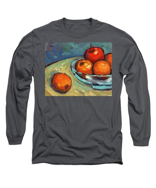Bowl Of Fruit 2 Long Sleeve T-Shirt