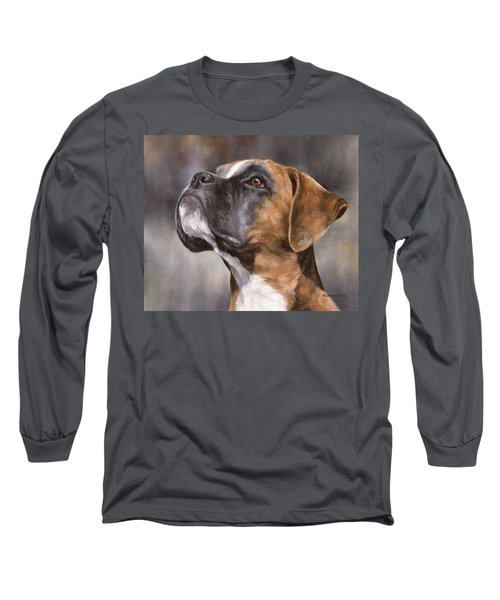 Boxer Painting Long Sleeve T-Shirt