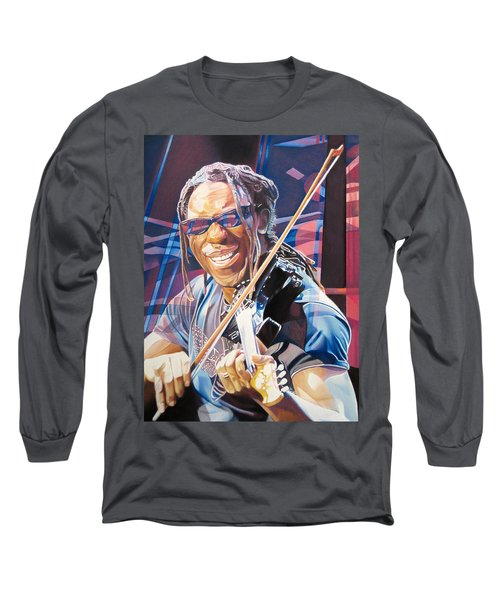 Boyd Tinsley And 2007 Lights Long Sleeve T-Shirt by Joshua Morton