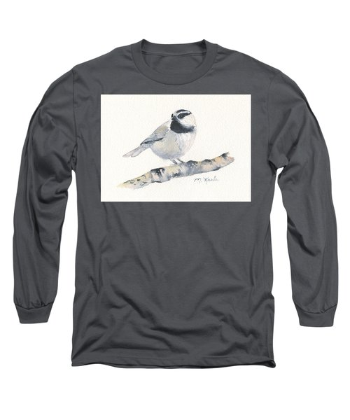 Bozeman Native - Mountain Chickadee Long Sleeve T-Shirt