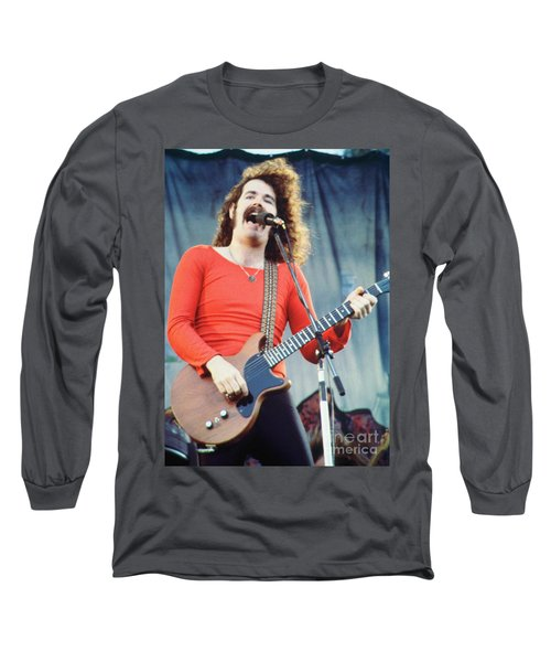 Brad Delp Of Boston-day On The Green 1 In Oakland Ca 5-6-79 1st Release Long Sleeve T-Shirt