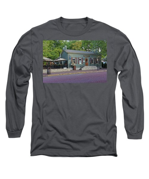 Braddens Main Street St Charles Mo Dsc00874  Long Sleeve T-Shirt by Greg Kluempers