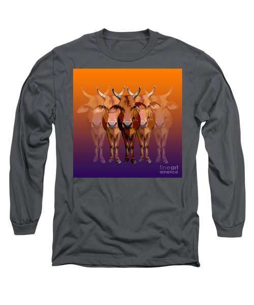 Brahman Cow Long Sleeve T-Shirt